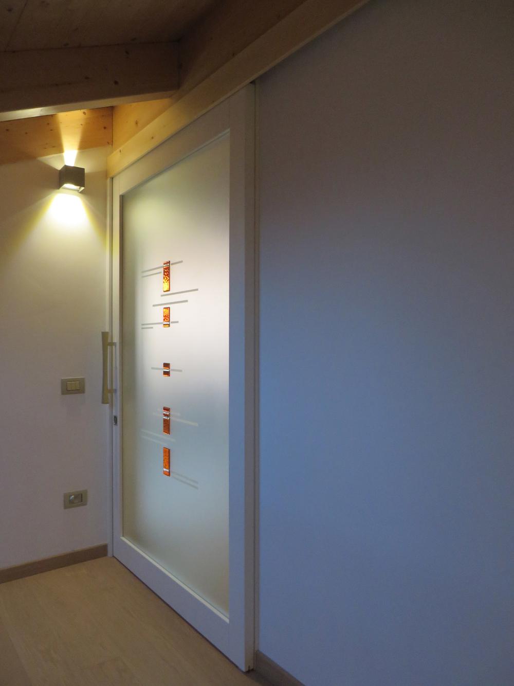 Porte scorrevoli in legno esterno muro - Porte scorrevoli a vetri ...