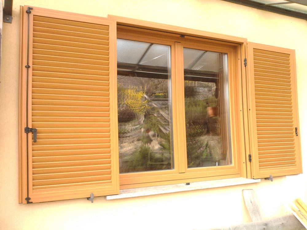 Serramenti roncoroni legno - Finestre in alluminio color legno ...