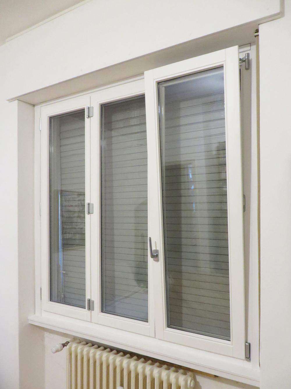 Legno alluminio roncoroni legno - Finestre in legno bianche ...