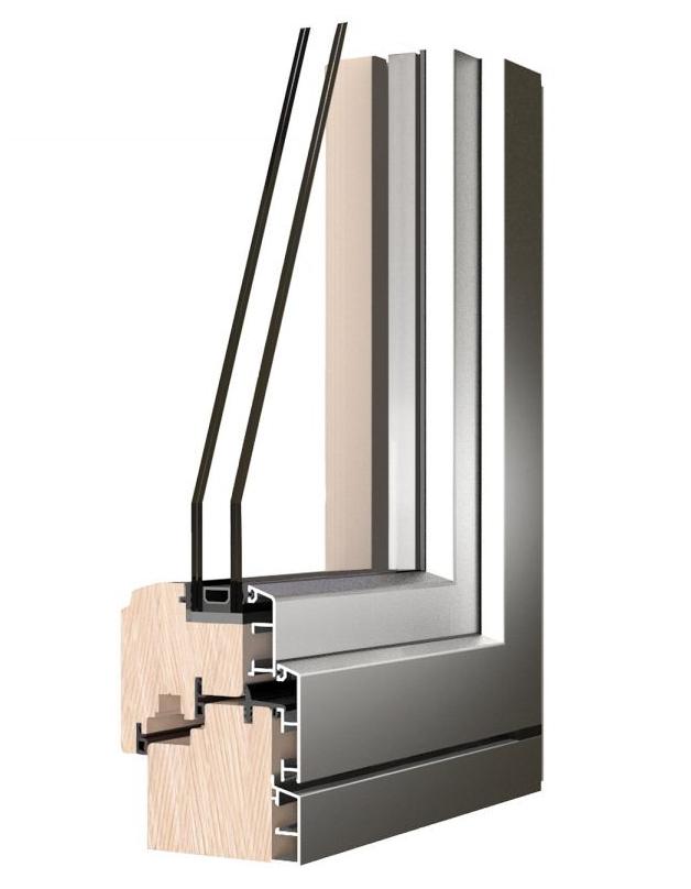 Legno alluminio roncoroni legno - Trasmittanza serramenti ...